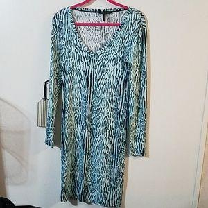 BCBGMAXAZRIA long sleeve dress